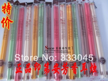 FREE shipping 200pcs/lot lowest price wholesale medical indian chinese candle ear health care therapy tool aromatherapy beeswax