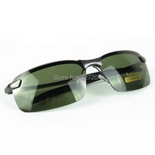 Classical Polarized Windproof Sunglasses With Metal Frame And Antiskid Temples For Outdoor Exercise Or Expedition