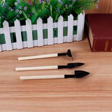 Большой мини-тройку грабли лопаты лопаты сада набор инструментов горшках балкон, хорошее качество