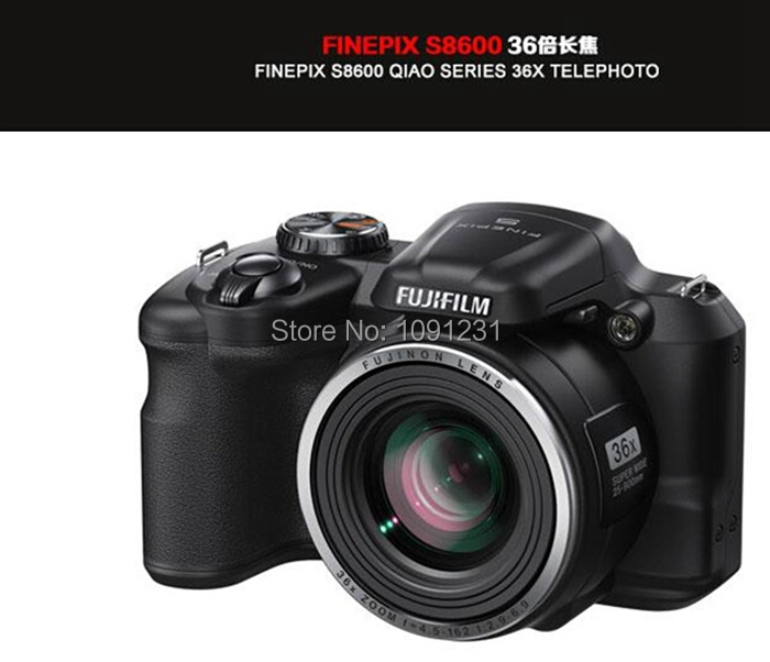 DHL Free shipping FinePix S8600 digital SLR 16 million effective pixels 36x optical zoom HD1920 1080
