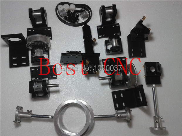 whole set laser mechanical components for installing a co2 laser cutting and engraving machine(China (Mainland))