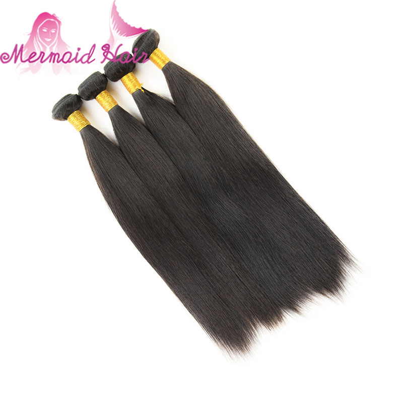 Indian Hair Weave Bundles 7A Indian Virgin Hair Straight 4 Pcs 100g Lot  Unprocessed Virgin Indian Straight Hair Free Shipping