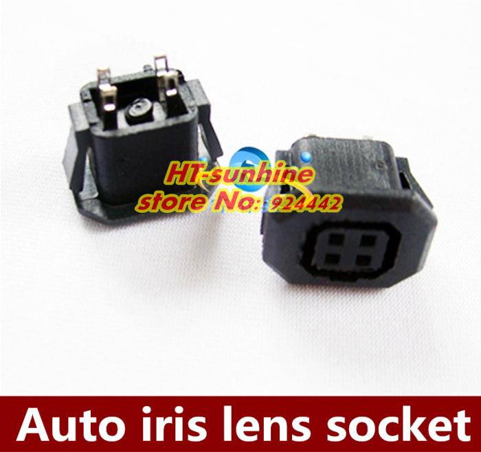 Аксессуары для видеонаблюдения 20PCS/LOT Auto 4pin CCD аксессуары для систем видеонаблюдения