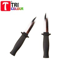 Wholesale 100pcs/lot! Halloween props retractable bayonet sword contraction knife trick bayonet contraction toy#LS54(China (Mainland))