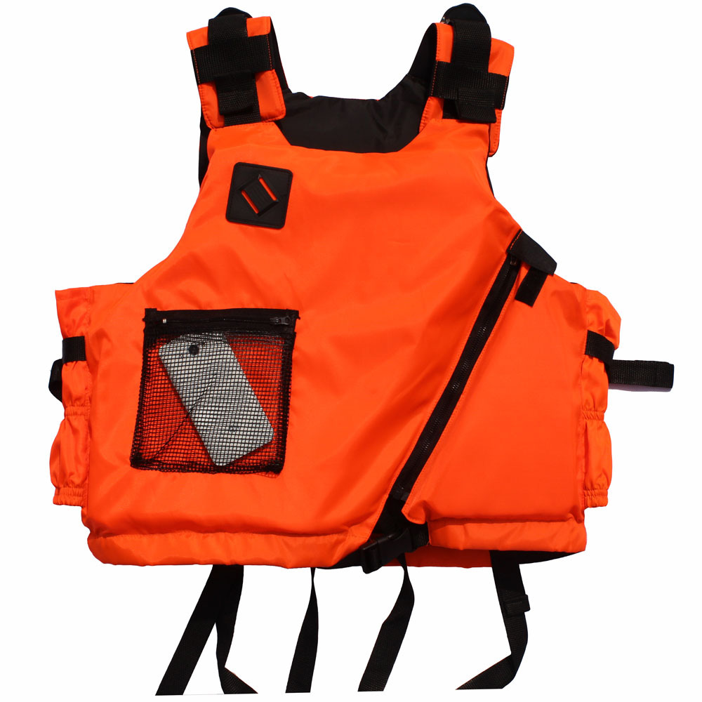 Professional outdoor adult life vest life jacket swim vest fishing accessory, 45cm,EPE material, Nylon oxford fabric(China (Mainland))