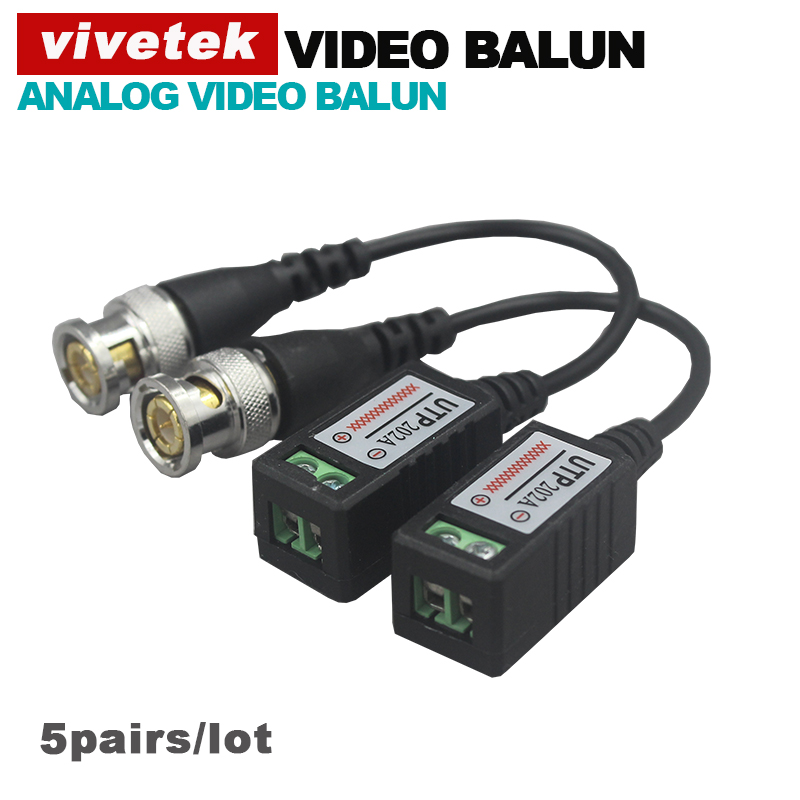 Twisted BNC CCTV Video Balun passive Transceivers UTP Balun BNC Cat5 CCTV UTP Video Balun above 100M Distance(China (Mainland))