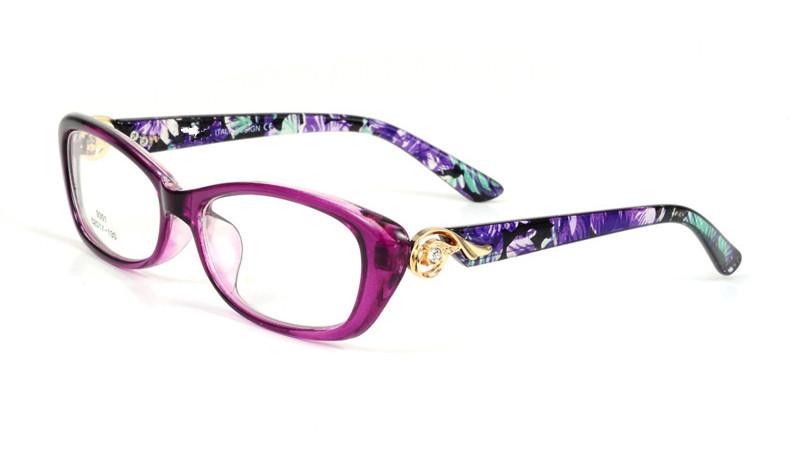 Understanding Eyeglass Frame Measurements : Cat Eye Frame for Female Grade Glasses Vintage Eyeglasses ...