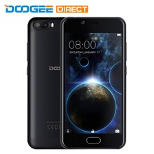 Buy Stock DOOGEE Shoot 2 5.0 inch Android 7.0 MTK6580 Quad Core 1GB+8GB 3G Smartphone 5.0MP Dual Rear Cameras Fingerprint Sensor for $64.99 in AliExpress store