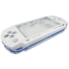 White Full Housing Repair Mod Case + Buttons Replacement for Sony PSP 1000 Console