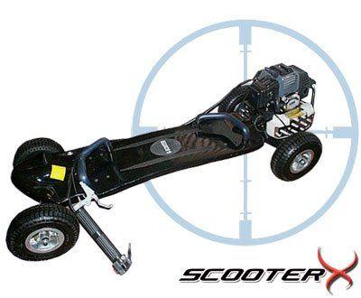 49cc Gas powered skateboard,motor scooter,gasoline scooter skateboard factory direct Some Countries EMS Free shipping