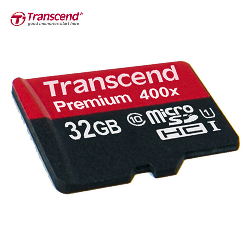 Sealed Real Transcend 32GB C10 UHS-1 400X MicroSDHC Micro SD SDHC 32GB Card 60MB/S class 10 UHS-1 TF Memory Card(China (Mainland))