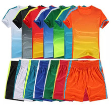 2017 New Arrival Mens/Kids Soccer Sets Thai Quality Football Jerseys Costum Sports Training Kits Clothes 2XL 3XL 4XL 5XL shir(China (Mainland))