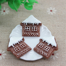 Buy 10PCS Kawaii Resin Christmas Hut Flatback Cabochon Embellishment Accessories DIY Scrapbooking Craft,21*22mm for $2.16 in AliExpress store