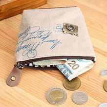 New Mini Cute Women Coin Purses Cheap Casual Sackcloth Coin Bags For Women Fashion Women Bags