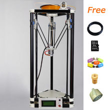 LCD display delta diy 3d printer kit with 40m filament masking tape 8GB SD card for Free