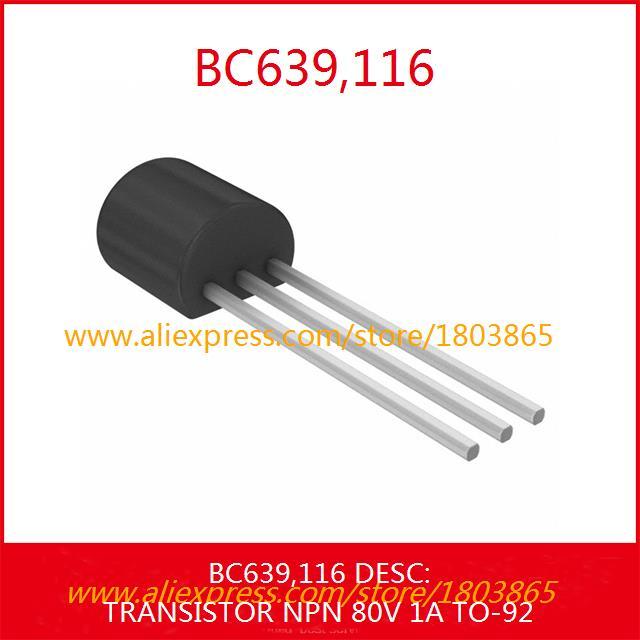 116 транзистор NPN 80 V 1а