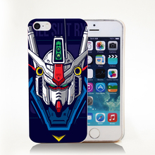 Gundam Suit Hard Transparent Cover Case for iPhone 4 4s 5 5s 5c 6 6s Protect Phone Cases