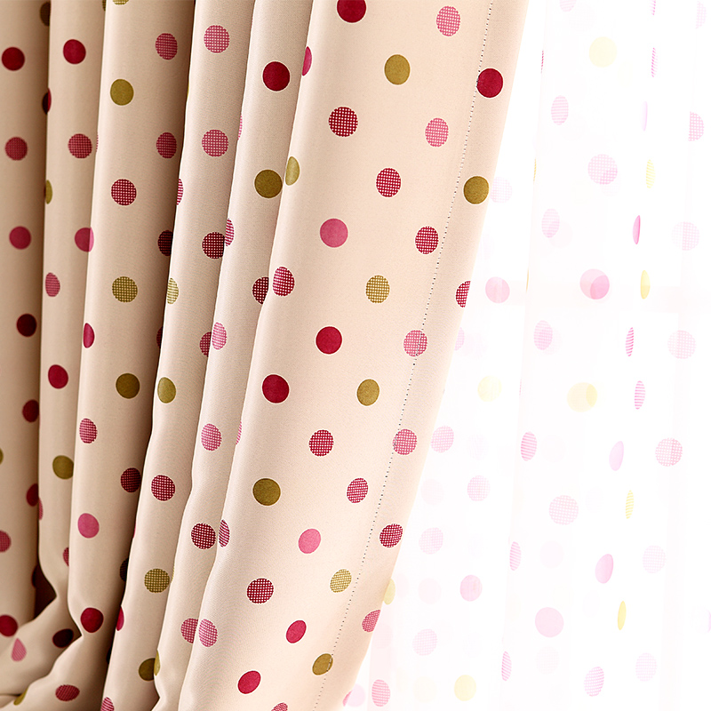 Blocked Curtain Fashion quality bedroom livingroom blocked curtain with sheer size 3*2.5m for window 1.5*2.5m(China (Mainland))
