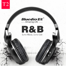 Buy Bluedio T2 Bluetooth Headphones Wireless+Wired Double Mode Bluetooth Headset 100% Original 3D Stereo Bass Game& Music& Call for $32.50 in AliExpress store