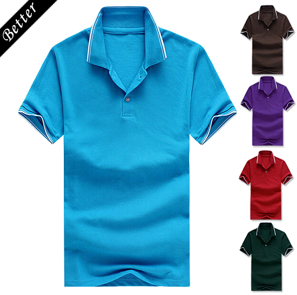 2015 men brand polo shirt fashion cheap camisa polo white for Cheap polo collar shirts