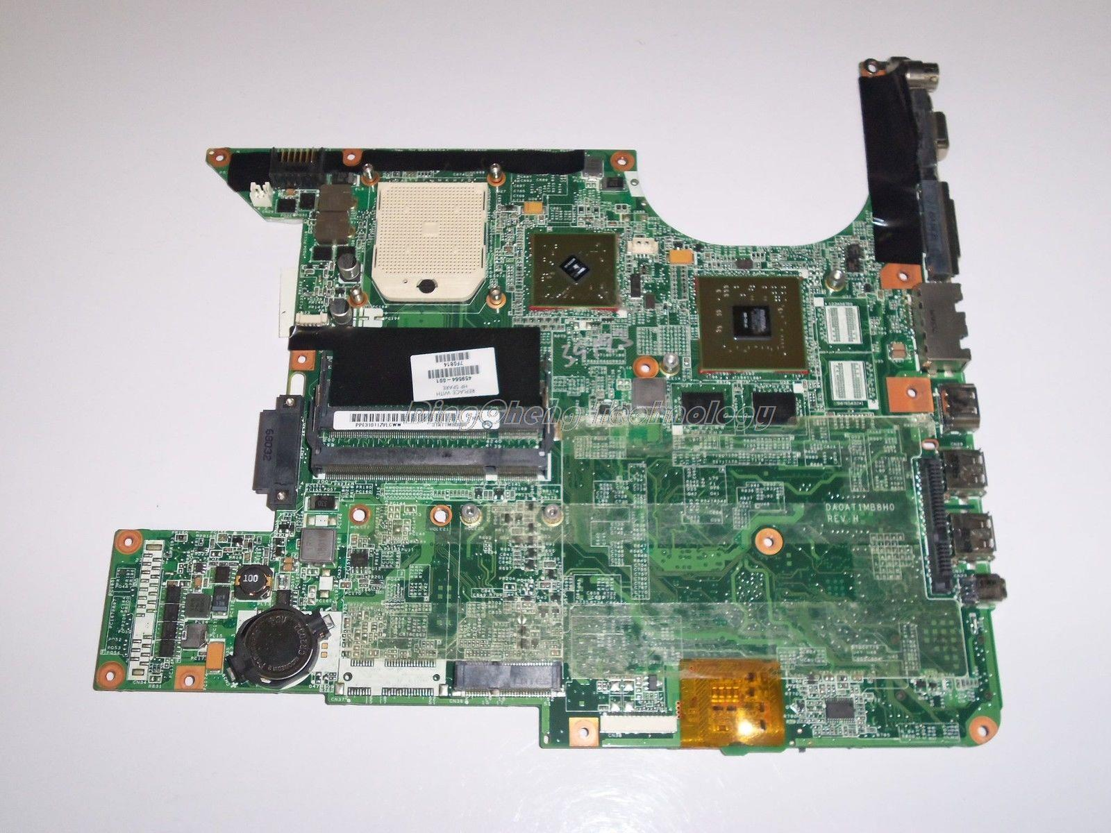 New laptop Motherboard For hp DV6500 DV6000 449902-001 459564-001 DA0AT1MB8H0RE for AMD cpu with non-integrated graphics card<br><br>Aliexpress
