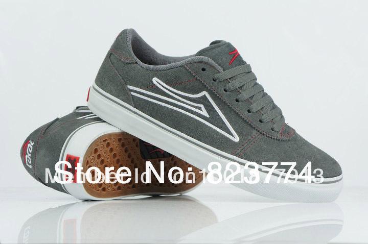 Lakai манчестер скейт обувь серый