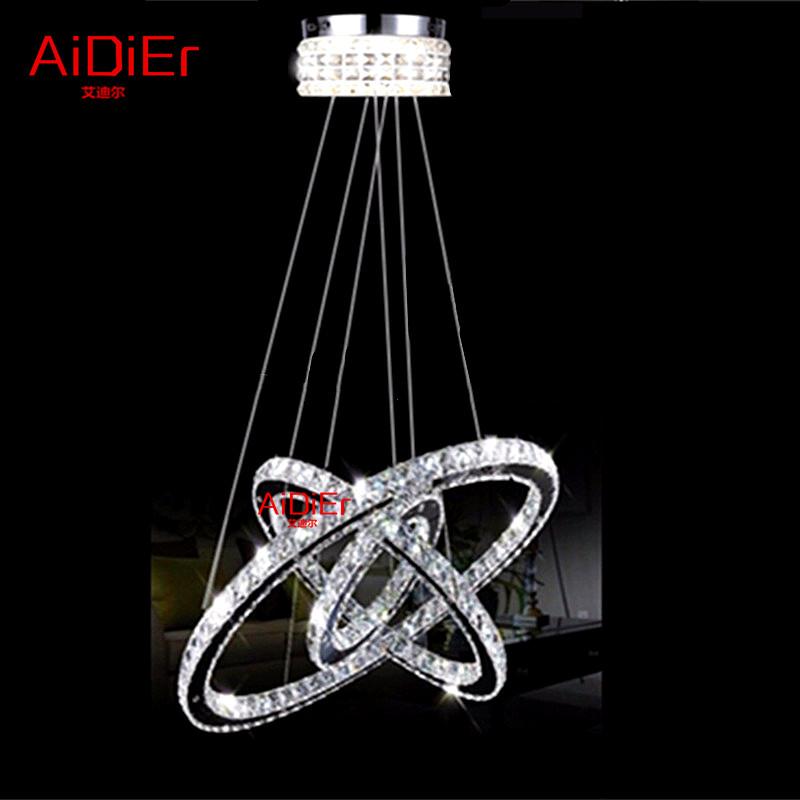 europe new design silver crystal chandelier lighting cristal suspension led crystal ring light. Black Bedroom Furniture Sets. Home Design Ideas