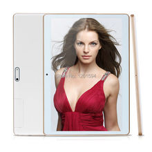 "10"" Android Tablet PC Phablet Tab MTK Quad Core 1GB RAM 16GB ROM 10 Inch 1280x800 IPS Screen 3G Phone Call Dual SIM Card(China (Mainland))"