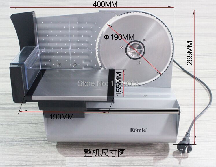 Free shipping Frozen Meat cutter Blades Size can adjust 0-20MM Sausage slicer