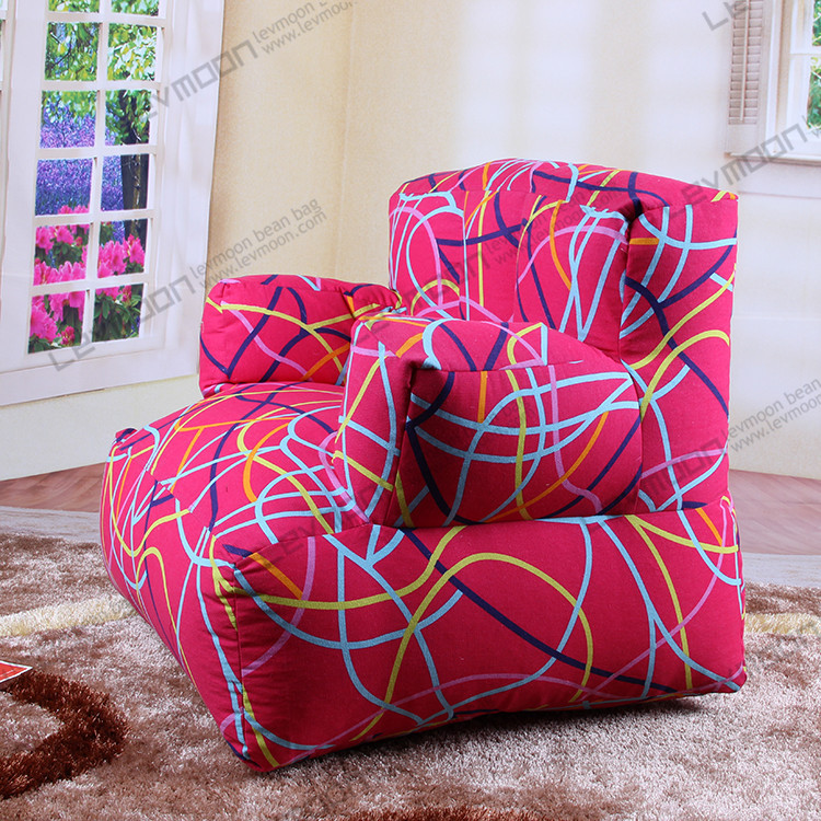 FREE SHIPPING striped bean bag covers bean bags chairs bean bag company 100% cotton canvas bean bag couch without filling(China (Mainland))