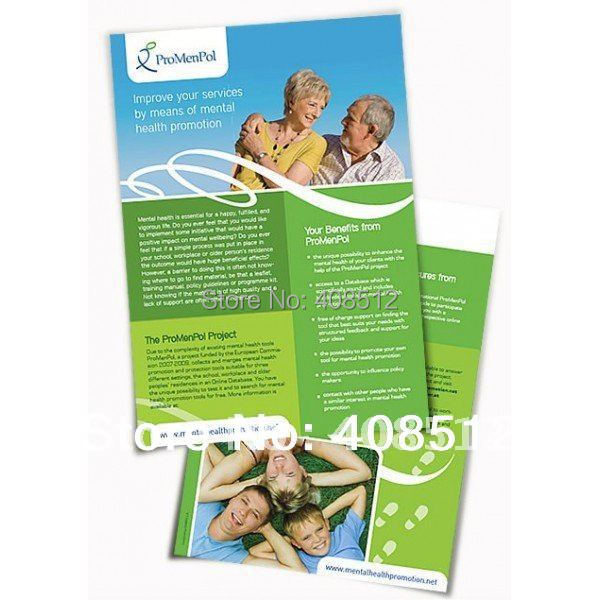 Free shipping customized design coated art paper fliers, A5 A4 flyers printing(China (Mainland))
