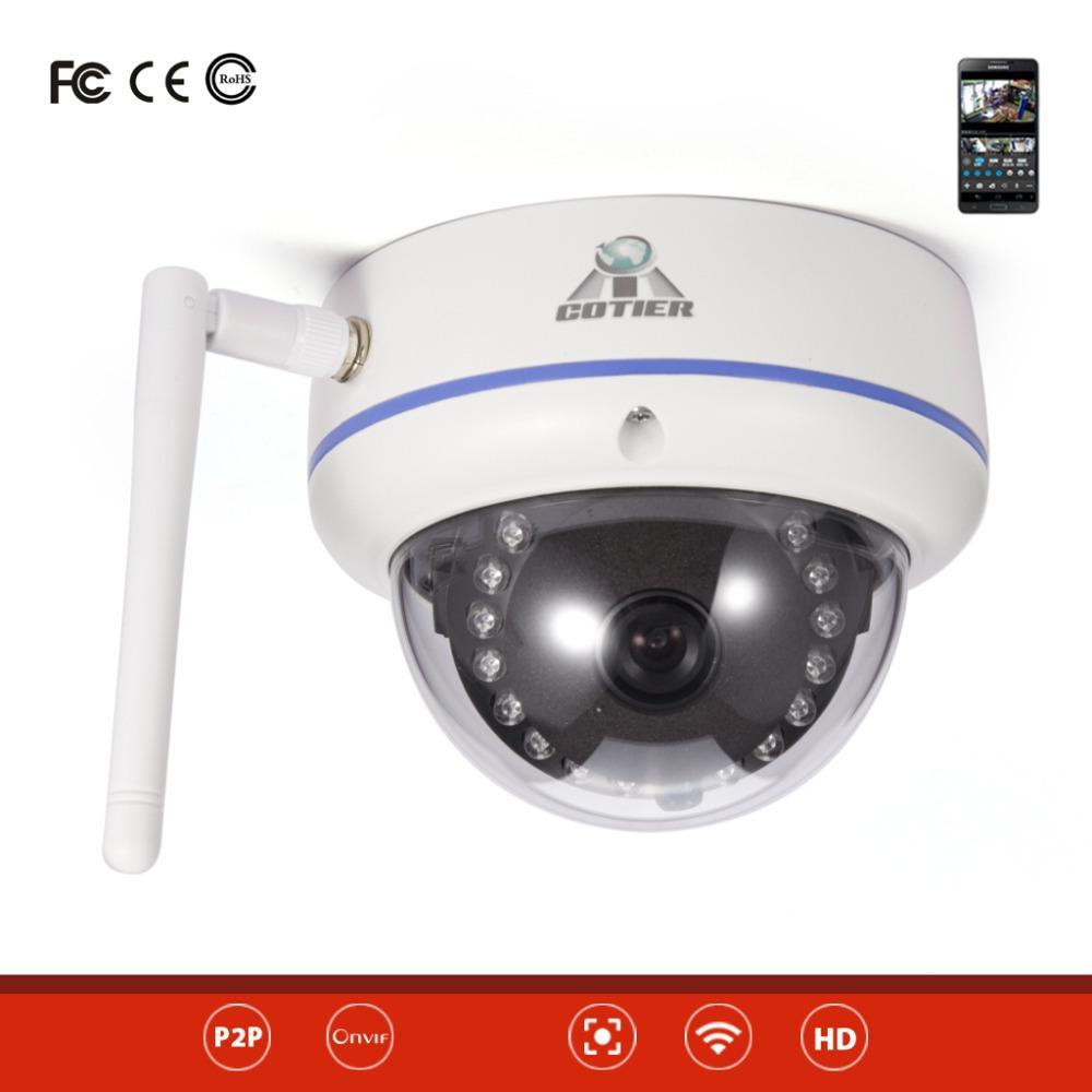 cotier tv 536w ip wifi indoor dome mini wifi camera ip wireless camera in surveillance cameras. Black Bedroom Furniture Sets. Home Design Ideas