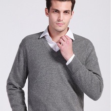 2016 new casual woolen sweater men pullovers V-neck sweater men's slim fit brand clothing christmas sweater autumn and winter(China (Mainland))