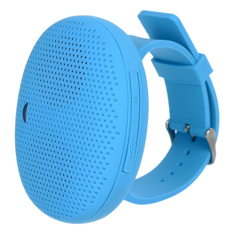 Creative Mini Bluetooth V4.0 Wrist Speaker w/ Micro USB / TF - Blue(China (Mainland))