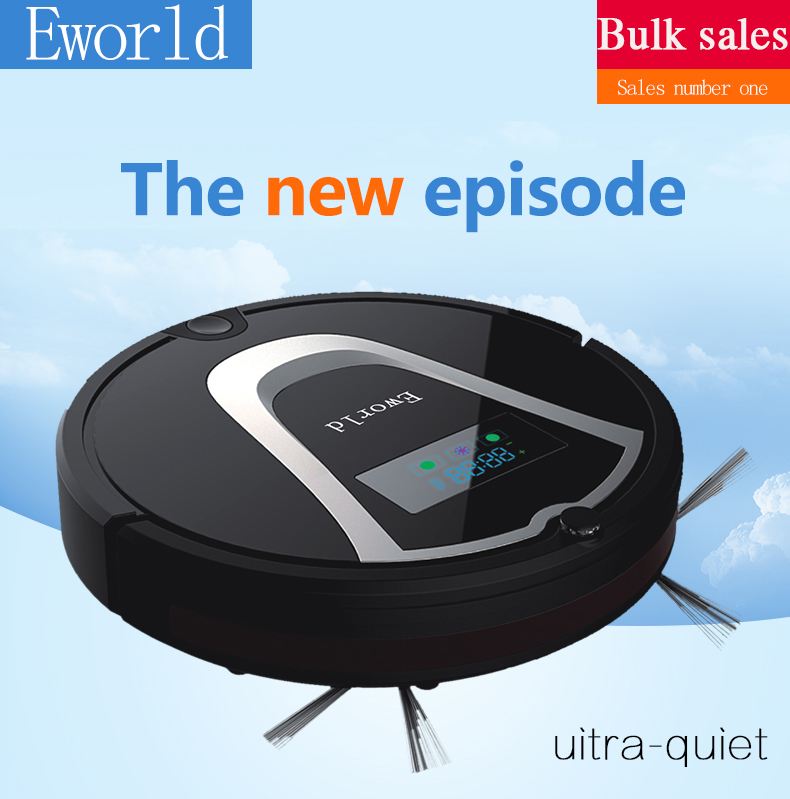 Eworld Intelligent Robot Vacuum Cleaner and Allergies with FREE and Smart Remote control and Self Charge 1-Year Warranty(China (Mainland))