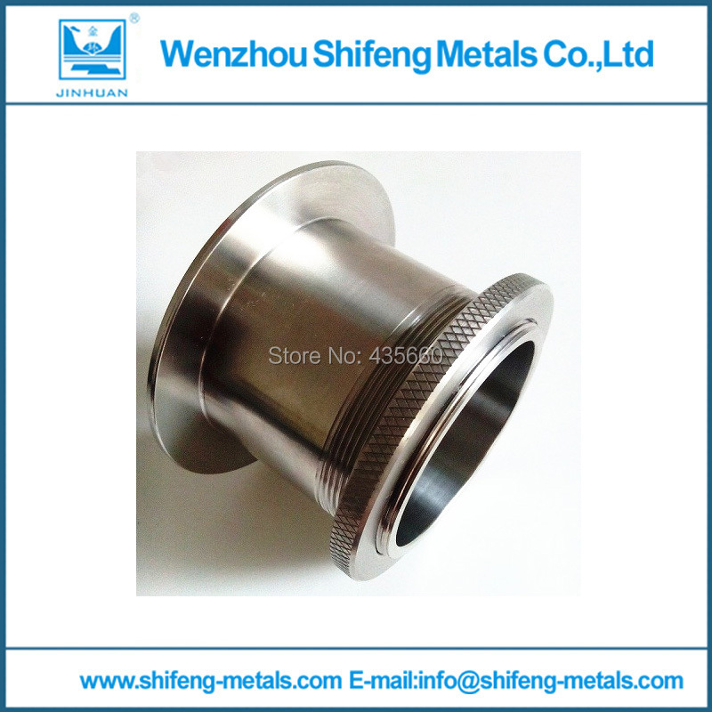 89mm stainless steel 304 wall bushing / sanitary wall bushing / fittings / sleeves / pair wire wall pipe(China (Mainland))