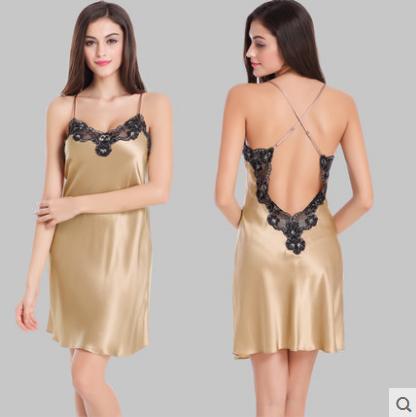 lingerie en soie tissu promotion achetez des lingerie en soie tissu promotionnels sur aliexpress. Black Bedroom Furniture Sets. Home Design Ideas