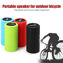 GACIRON Bike Bicycle Bluetooth MP3 Player Audio Subwoofer Outdoor Sports Cycling Mini Small Speaker Loudspeaker for IOS Android(China (Mainland))