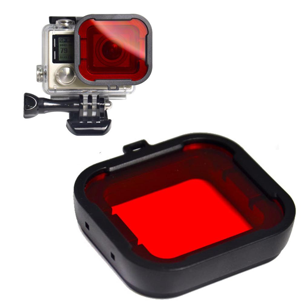 Набор из 4 цветных фильтров для Go Pro HERO 3 + подводного плавания - 11.11_Double 11_Singles aeProduct.getSubject()