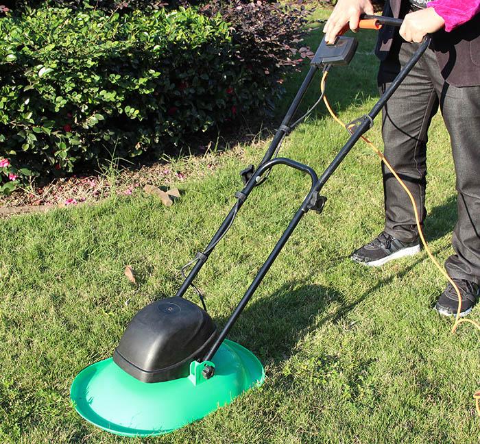 Garden tools cushion electric lawn mower blade plastic Lawn Mower(China (Mainland))