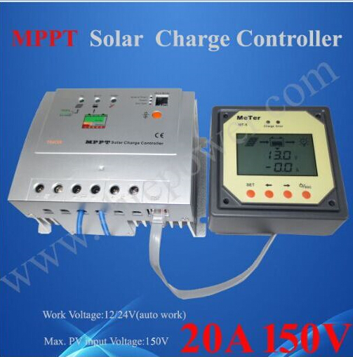 Excellent thermal design 12v 24v auto work mppt 150V 20a solar controller(China (Mainland))