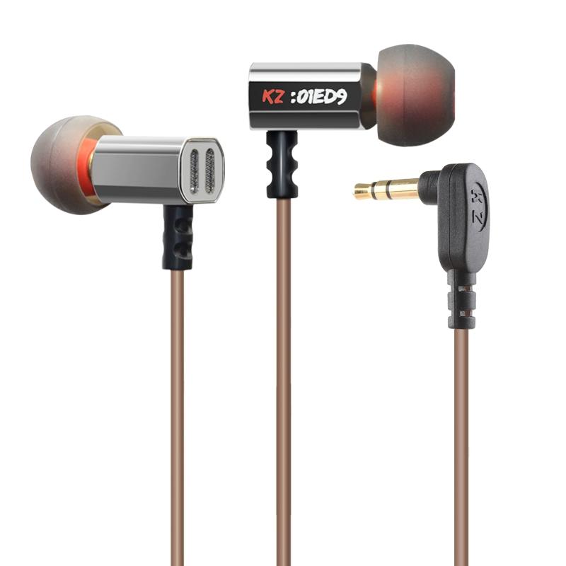 2015 New Arrival Original KZ ED9 3.5mm in ear Earphones Heavy Bass HIFI DJ Stereo Earplug noise isolating(China (Mainland))