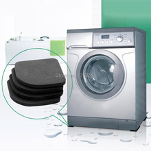 New 4Pcs Washing Machine Shock Pads Anti Vibration Feet Tailorable Adjustment Mat(China (Mainland))