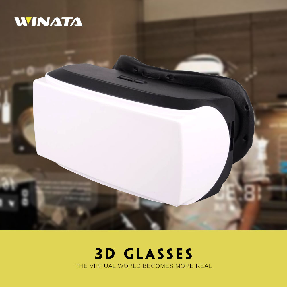 5inch HD 1280*720 Portable Video Glasses Virture 3D Glasses WiFi+BT4.0 head mounted display VR Glasses With Android 4.4(China (Mainland))