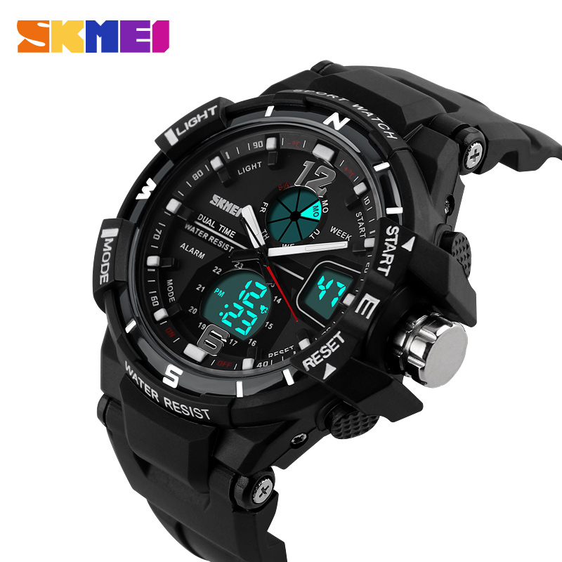 2016 New Brand SKMEI Fashion Watch Men G Style Waterproof Sports Military Watches Shock Men's Luxury Analog Quartz Digital Watch(China (Mainland))