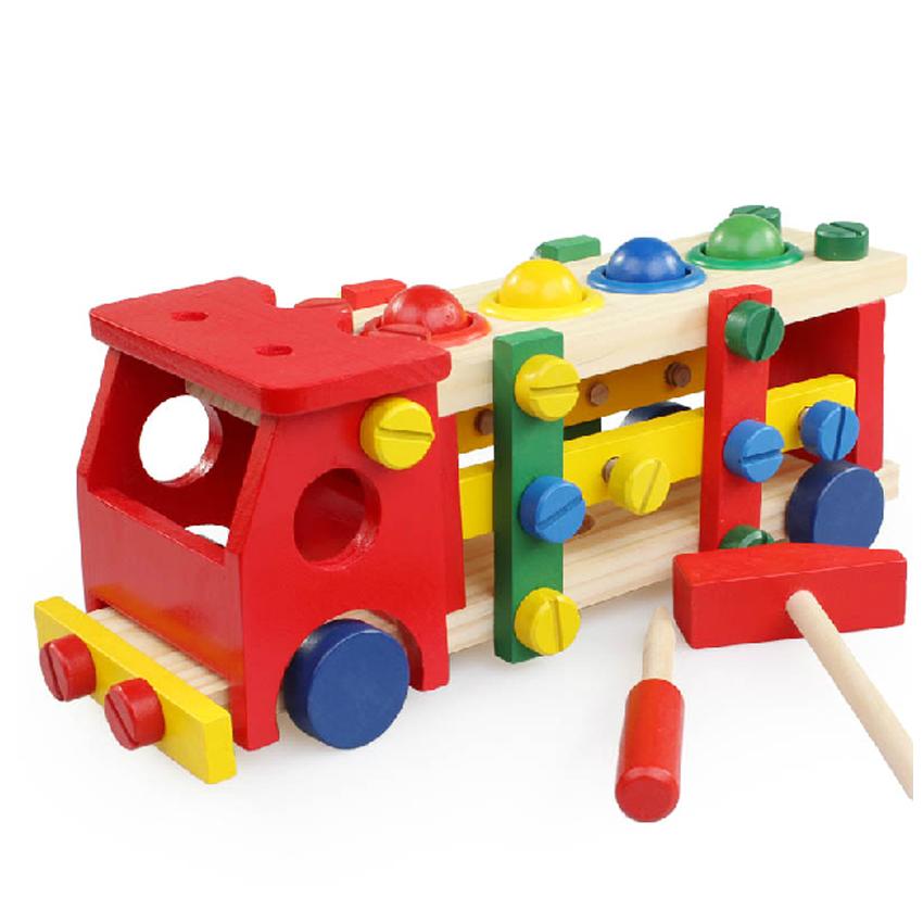 Comprar carros de madera desmontables - Jugueteros de madera ...