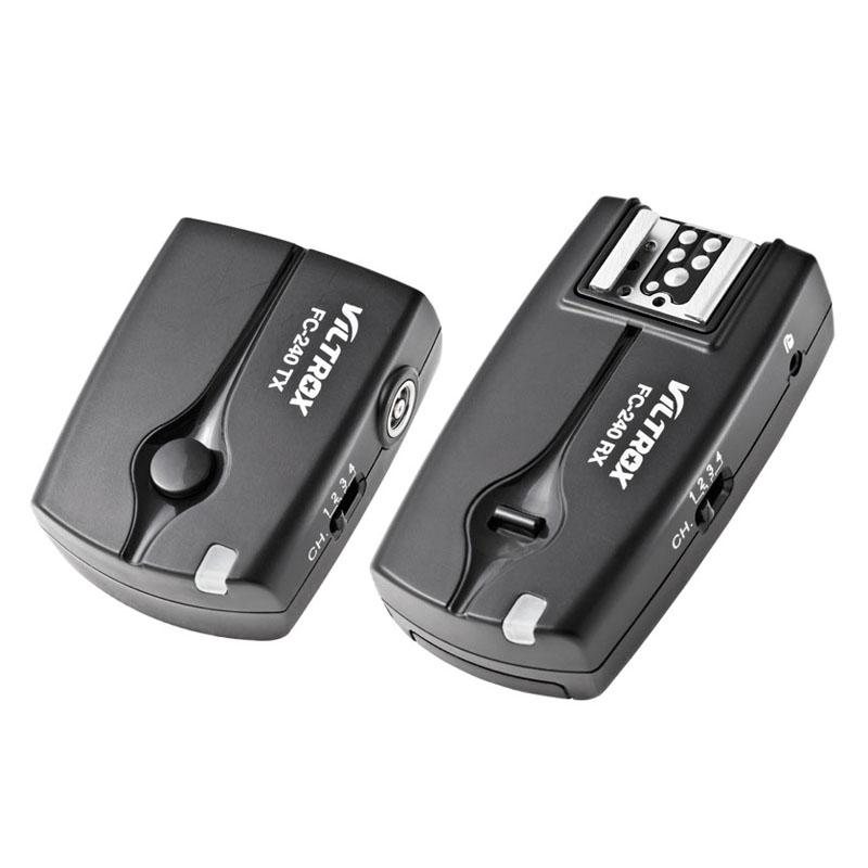 Viltrox Wireless Flash Trigger Camera Remote Shutter Release for Canon 7D 6D 5D II III 1D 50D 40D 30D 20D 10D DSLR(China (Mainland))