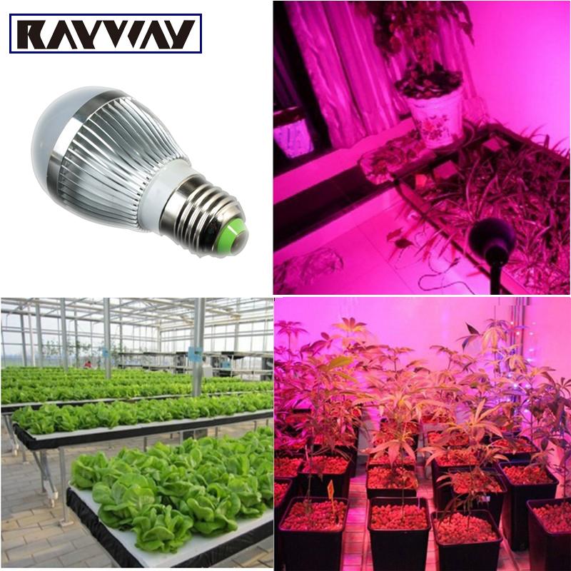 New Full spectrum LED Grow lights 14W E27 / E14 LED Grow lamp bulb for Flower plant Hydroponics system AC 85V -265V grow light(China (Mainland))