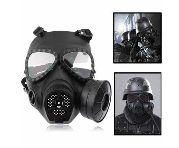 Free shipping Airsoft Tactical Wargame l gas respirator,Face Shield,Industrial Safety Equipment mask(China (Mainland))