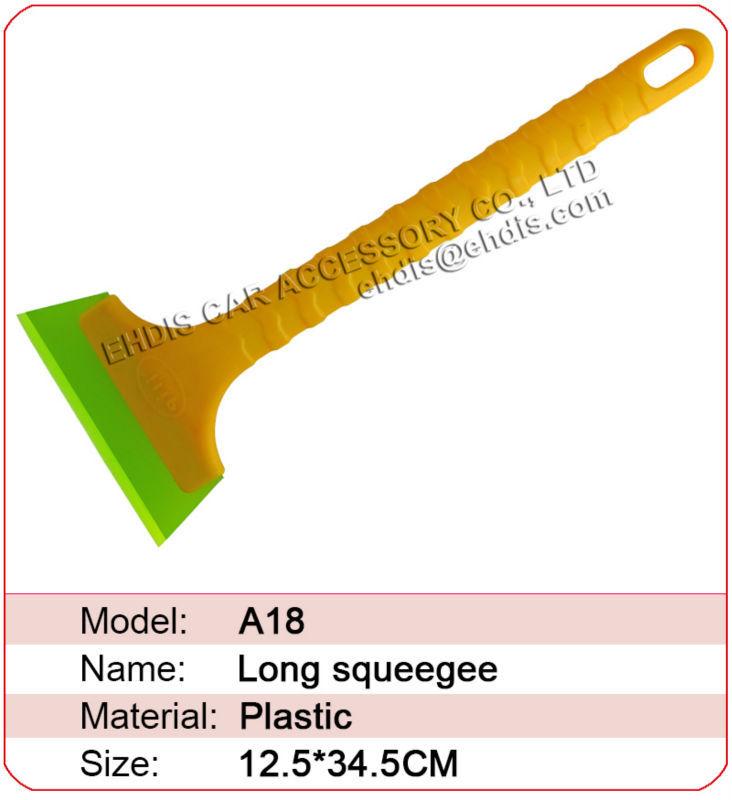 A18 снег чистые скребок экскаваторы с длинная рукоятка и большой резина размер 13,5 см ширина